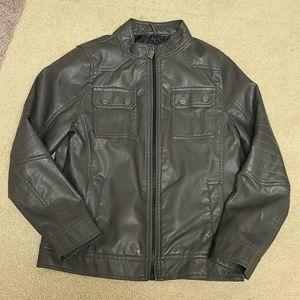 NWOT Urban Republic Faux Leather Jacket L (14-16)